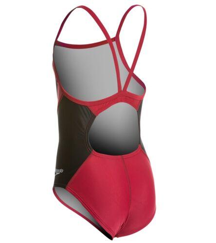 PowerFLEX Eco Revolve Splice Energy Back One Piece Swimsuit Youth SPEEDO Girls
