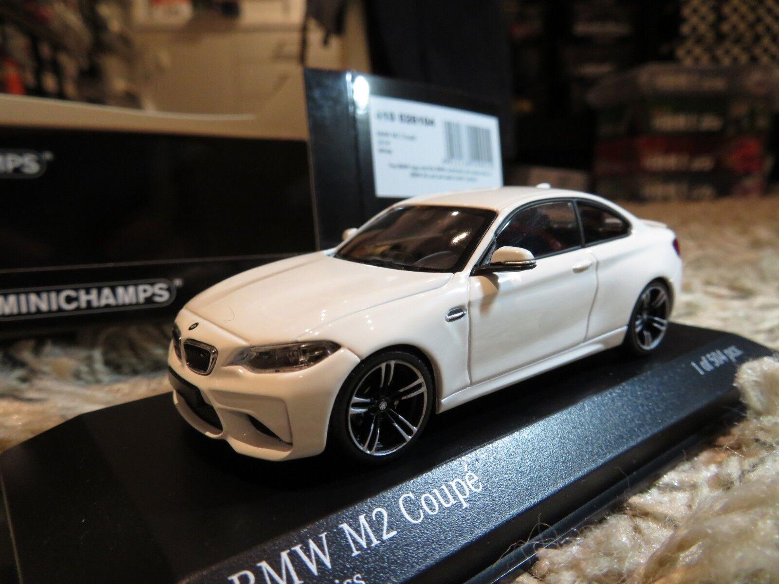 1 43 Minichamps BMW M2 Coupe (2016) diecast