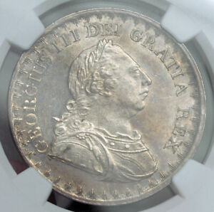 1811-Great-Britain-George-III-Silver-3-Shilling-Bank-Token-Coin-NGC-MS-61