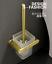 Brushed-gold-Zinc-Alloy-Toilet-Brush-amp-Holder-Bathroom-Toilet-Cleaner-Brush-Set thumbnail 14