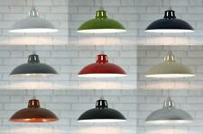 """12"""" Retro Metal Cafe Diner Ceiling Lampshade Pendant Light Shade"""