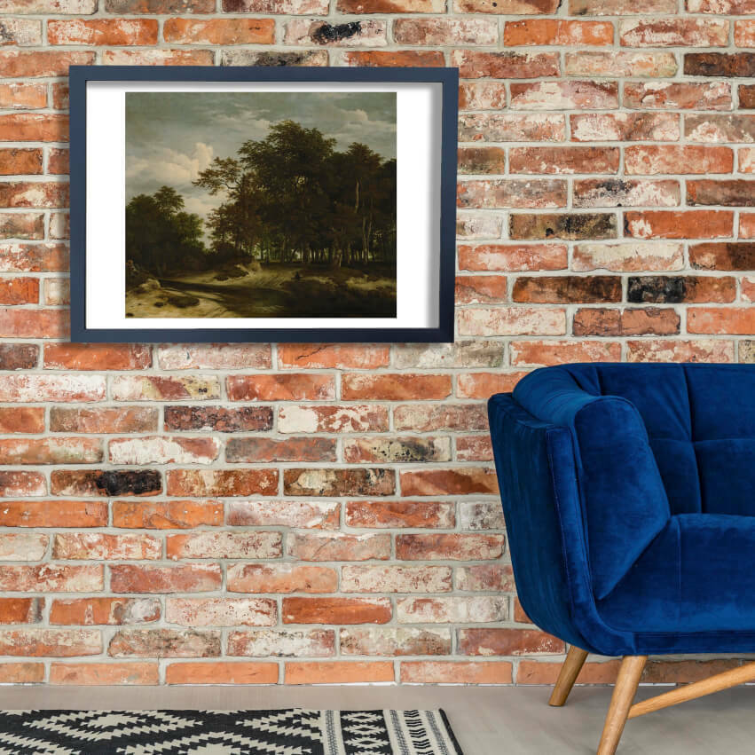 Jacob Van Ruisdael - The Great Forest Wall Art Poster Print