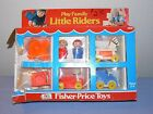 Fisher Price vintage little people Play Family Little Riders incomplete worn box
