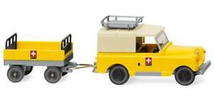 """Wiking 10005 Land Rover mit Anhänger """"PTT"""" 1:87"""