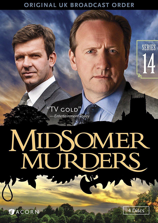 midsomer murders: series 14 (dvd, 2015, 4-disc set) | ebay