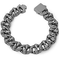 Heavy Men's 16mm Stainless Steel Fashion Bracelet Fine Quality Bracelet 10 Long on sale
