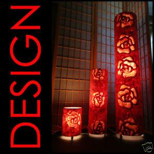 Design-Stehleuchte-Stehlampe-Tischlampe-Papier-M111-62-cm-Hoehe