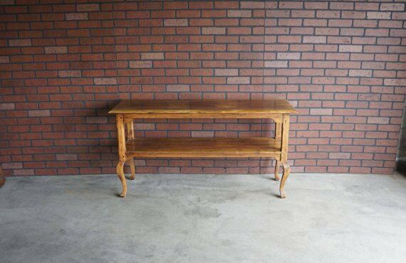 Old World Treasures Console Table By