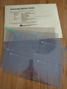 Spare-parts-catalogue-Microfiche-set-Daihatsu-4x4-F10-F20-F25-F50-F55-F60-F65