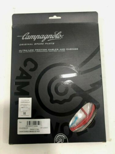 Red CAMPAGNOLO CABLE BRAKE//SHIFT CABLES//HOUSINGS ULTRA-SHIFT EP