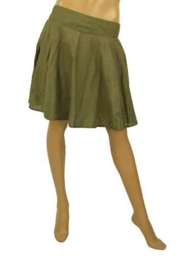O/'Neill Rock Skirt Gr.M Mouche oliv Stickereien Unterrock NEU