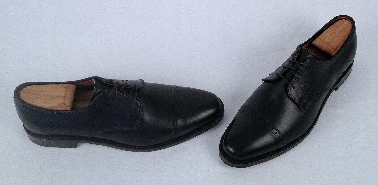 NEW   Allen Edmonds 'Clifton' Oxford - Black Calf - Size 8 D  350