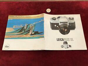 Ancien Catalogue Brochure Matériel Photo N 18 Leica Flex Sl Une Large SéLection De Couleurs Et De Dessins