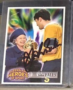 JOHN EALES SIGNED CARD