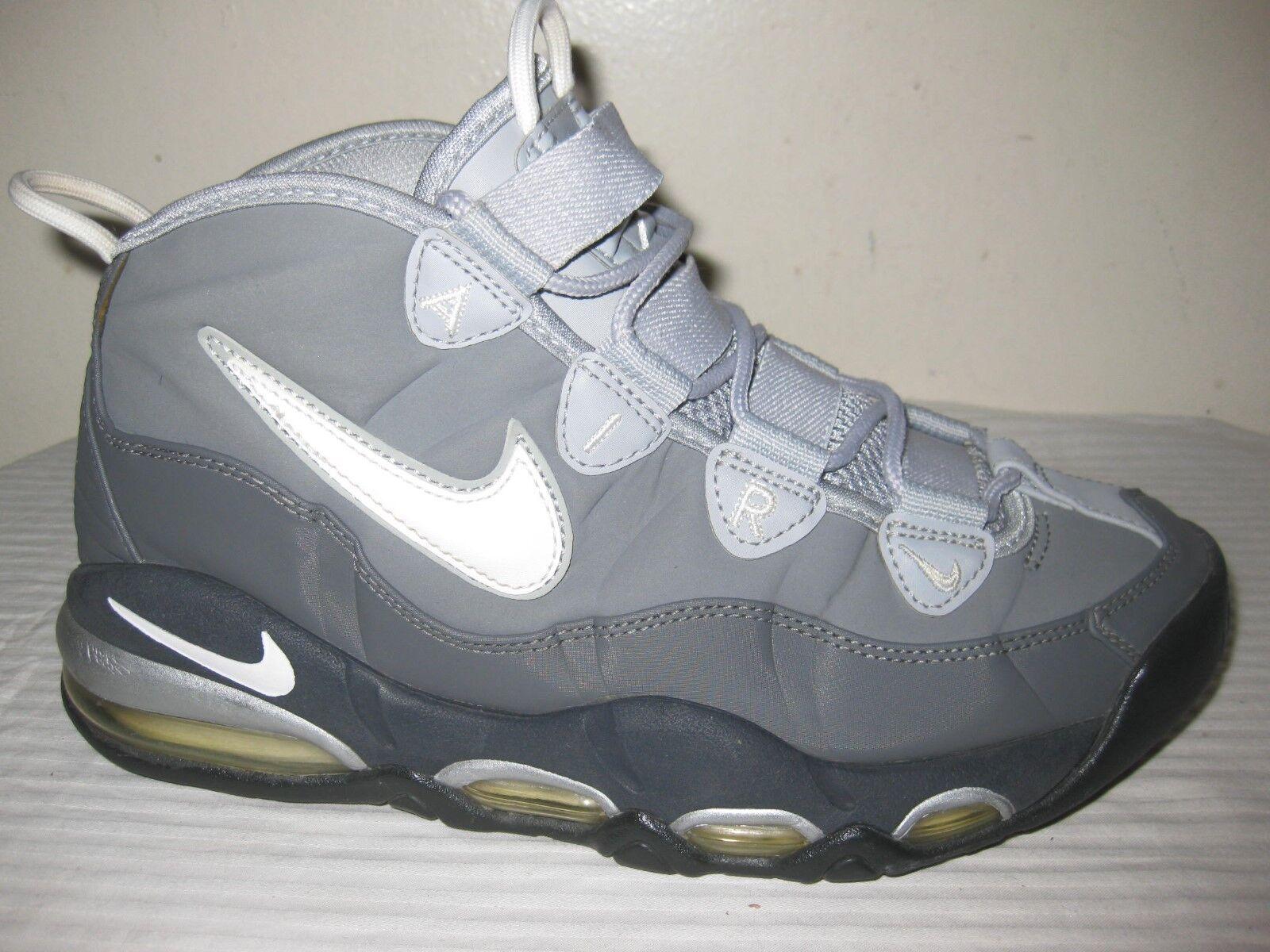 Nike Air Uptempo Cool Gris 41 311090-090 Hombres Zapatillas tamaño 41 Gris / 8 f5d368