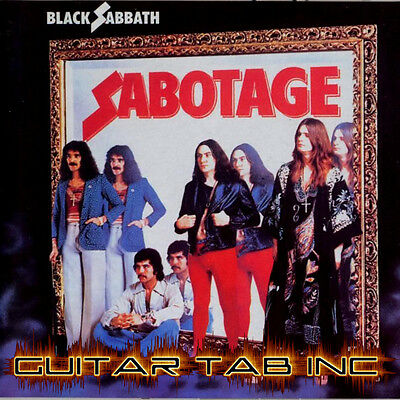 Black Sabbath Guitar TAB Lesson CD 837 TABS 93 BTs MEGA BONUS DIO Tony Iommi