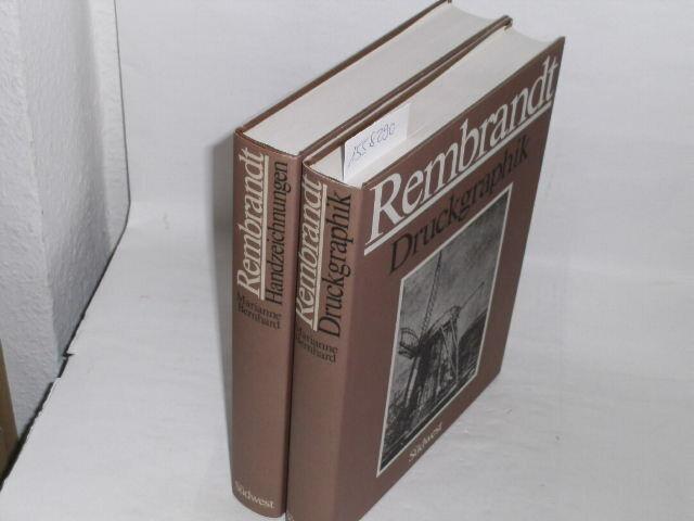 Rembrandt - Rembrandt in zwei Bänden. Bd. I Druckgraphik / Bd. II Handzeichnung