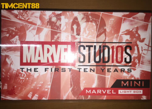 Landing Version Cosbaby /& Marvel Mini Light Box Hot Toys Iron Man Mark LXXXV