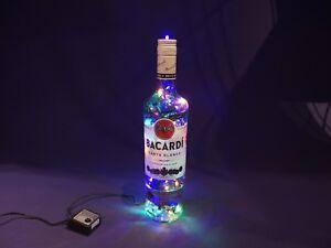 Baccardi-Flaschen-Lampe-mit-80-LEDs-Warmweiss-UND-Multicolor-UMSCHALTBAR