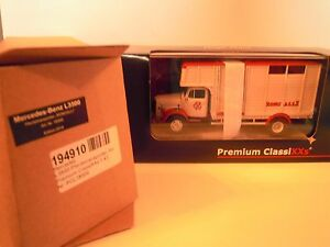 Publicité cirque miniature premium Zirkus Vehicule Classixx Benz L3500 194910