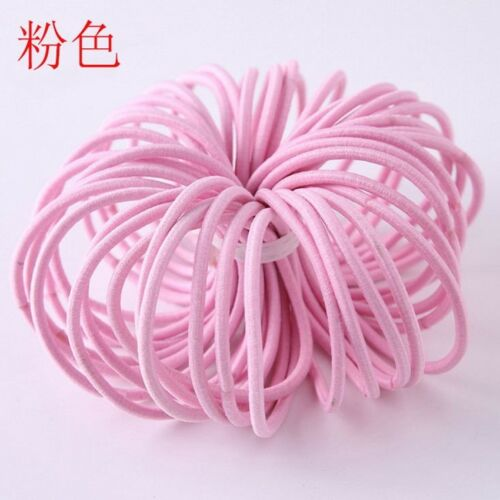 50//100pcs Elastic Hair Band Ponytail Holder For Baby Girls Kids Hair Accessories