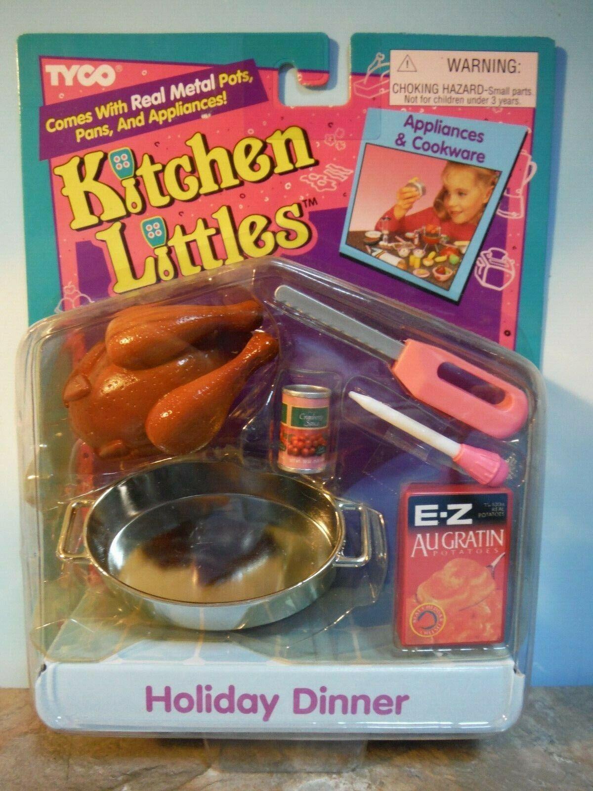 Tyco Cocina Littles cena de vacaciones  Nuevo
