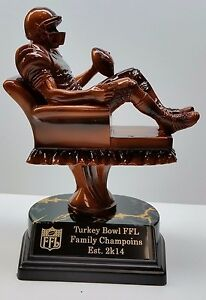 Fantasy Football CHAMPION Armchair Quarterback Trophy ...