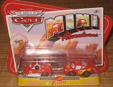Disney Pixar Cars Mini Adventures Lightning McQueens Team Fabulous Hudson Hornet