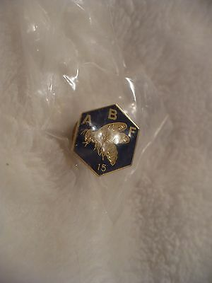 VN-  A B F 15 BEE PIN #47937  (ENAMEL)  REAL NICE!! MIP