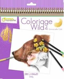 Details About Coloriage Wild 4 By Emmanuelle Colin Coloring Book Avenue Mandarine