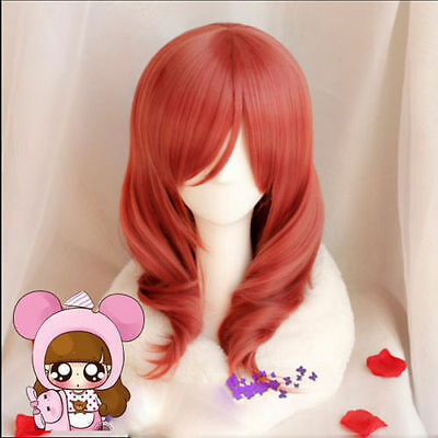 CuteKawaii Love LIVE School Idol Project Maki Nishikin Curly Lolita Cosplay Wig