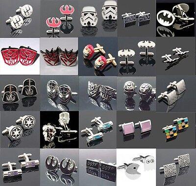 Gentleman Men's Jewelry Wedding Party Stainless Steel Shirt Cufflinks Cuff Link