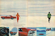 Vintage 1964 2-Page Magazine Ad Buick Adventure Is A Car Called A Riviera