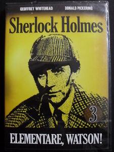 Sherlock-Holmes-N-3-Elementare-Watson-DVD-Nuovo-Whitehead-Pickering-A-C-Doyle