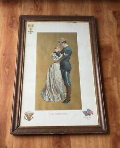 1899-The-Infantry-Antique-American-War-Print-Original-19-5-034-x-29-5-034