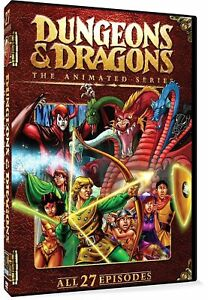 Dungeons-amp-Dragons-Animated-Series-1984-1986-DVD-All-27-Episodes-New-Sealed