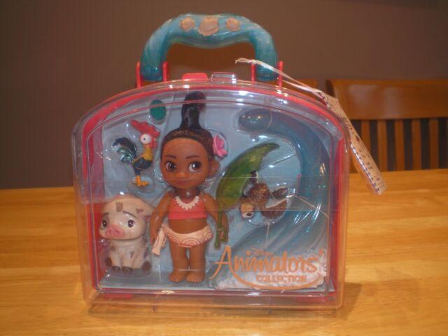 NEW Disney Store - Moana Mini Animator Doll Set (BNIB)