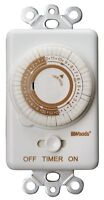Woods In Wall Programmable Timer 24 Hr Compatible With Cfl White on sale
