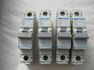 unique et triple pôle multiple amperages disponible Hager nd mcb/'s