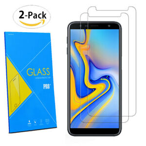 For-Samsung-Galaxy-J6-Plus-2018-6-0-034-2-Pack-Tempered-Glasses-Screen-Protector