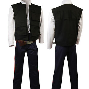 Star Wars IV ANH A New Hope Han Solo Cosplay Costume Pants Only