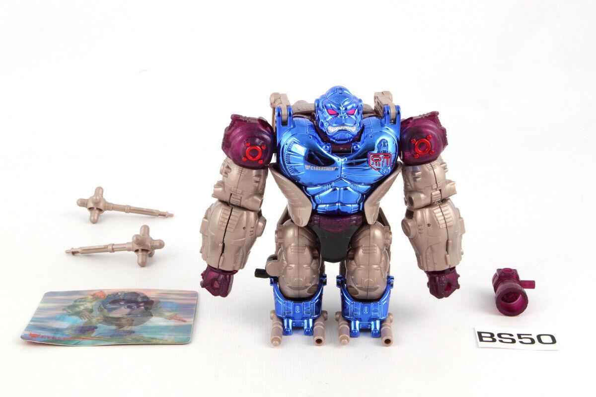 Convoy 100% Complete Mega Beast Wars Metals Transformers
