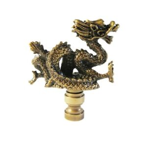 Lamp Finial-HORSE HEAD-Aged Brass Finish Highly detailed metal casting