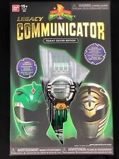 Mighty Morphin Power Rangers Legacy comunicatore Green & White RANGER EDIZIONE