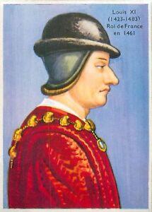 """Roi de France Louis XI dit le Prudent FRANCE IMAGE CARD 1951 - France - État : Occasion : Objet ayant été utilisé. Consulter la description du vendeur pour avoir plus de détails sur les éventuelles imperfections. Commentaires du vendeur : """"VERSO VIERGE / EMPTY BACKSIDE (VERSO)"""" - France"""