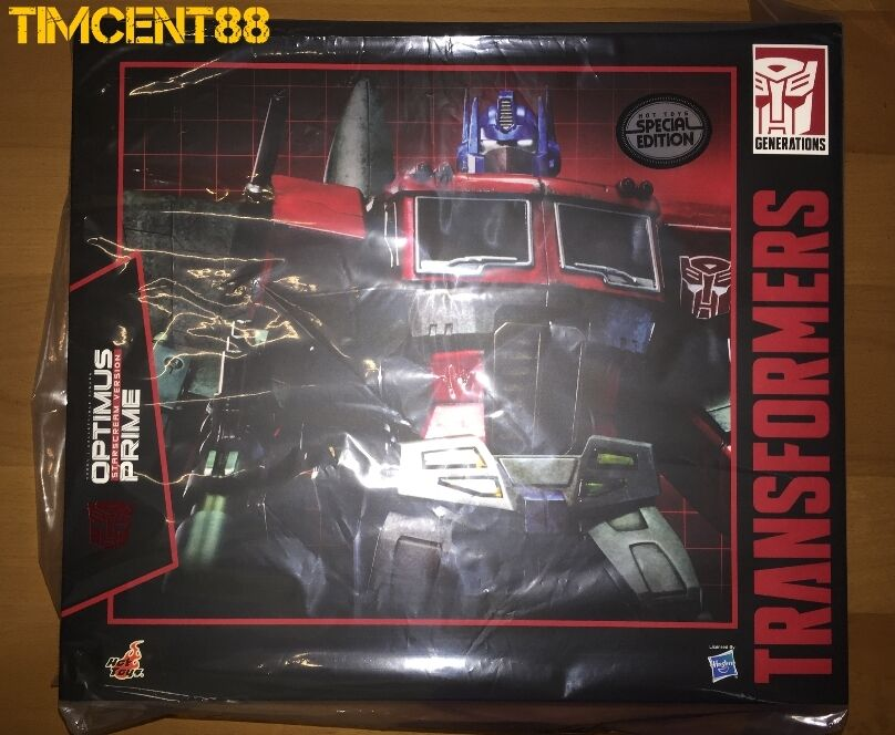 Ready  Hot Toys Transformers Optimus Prime Starscream Version Special Edition