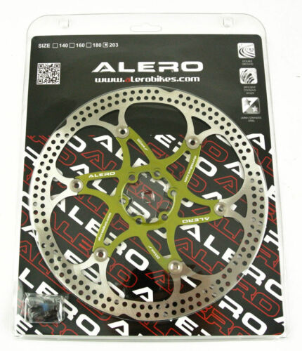 Alero RO142 6 Bolts Mountain Bike Floating Rotor Disc 160mm 180mm 203mm