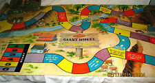 1958 REMCO Cowboys 'n Indians, Giant Wheel, Floor Size Western Board Game Matt