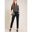 Details about  / Anthropologie The Essential Knit Cargo Pants size 4 new nwt black color