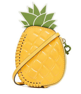 83b813bb771 Tory Burch Pineapple Coin Pouch Purse Key Fob Bag Charm ~NWT  118 ...
